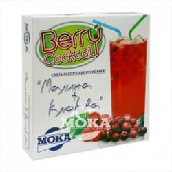 Berry cocktail raspberries + wild cranberries